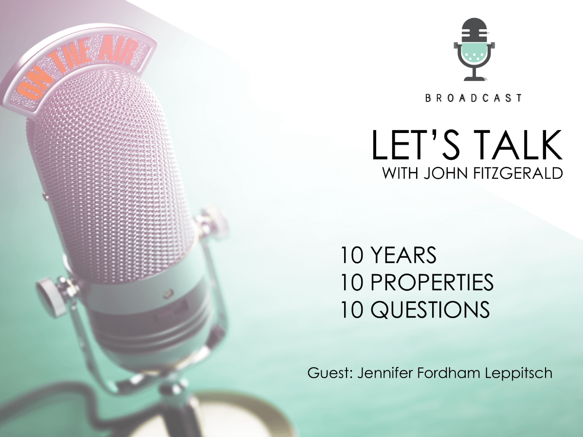 Podcast 1 – Let's Talk – with Jennifer Fordham-Leppitsch