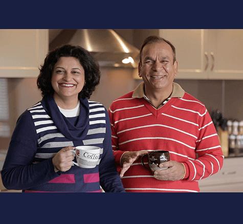 Vinod Bali & Meena Sharma - lifelong custodian clients