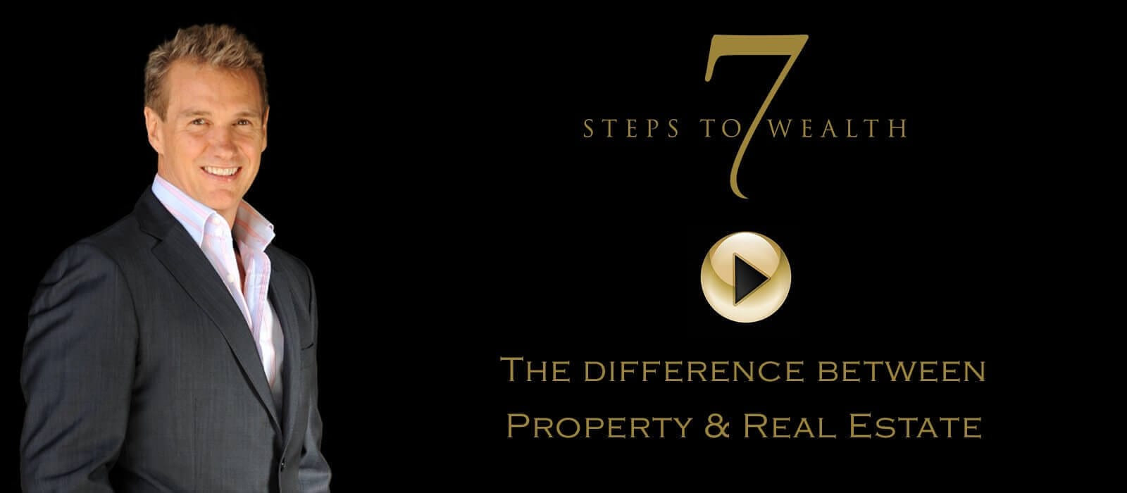 John Fitzgerald  and his talks about the difference between property and real estate