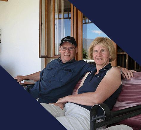 Heiner & Karin - long time custodian clients