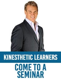 Come to a seminars - learning method for kinesthetic learners