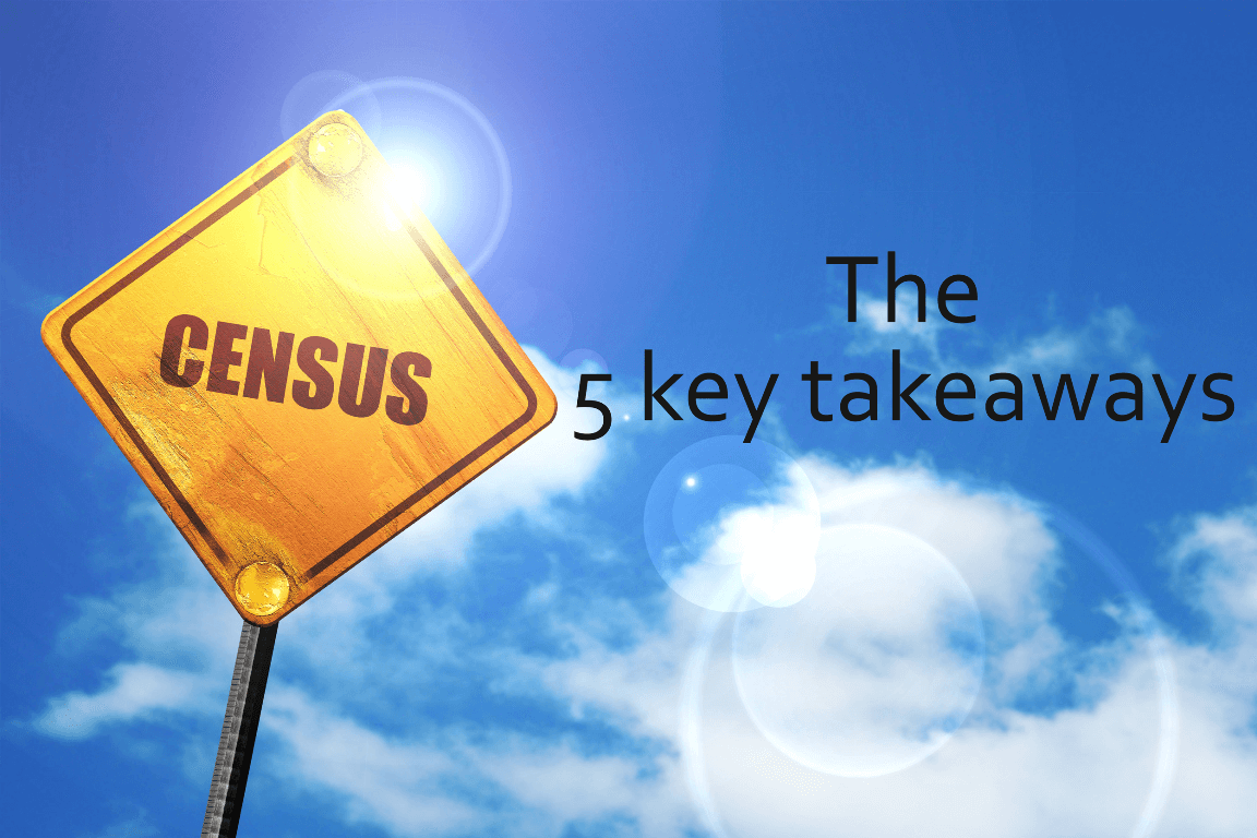 5 key takeaways from the Census