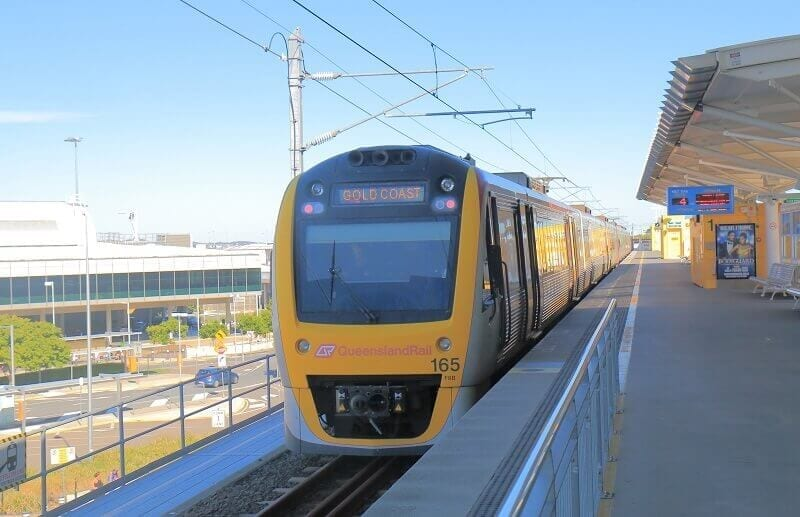 high speed train in Gold Coast