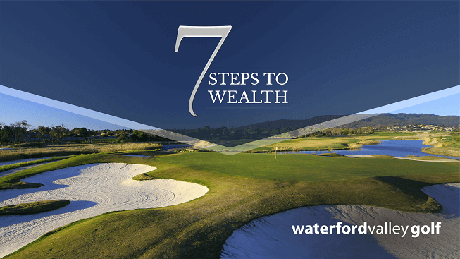 7 steps to wealth event in Waterfold Valley Golf