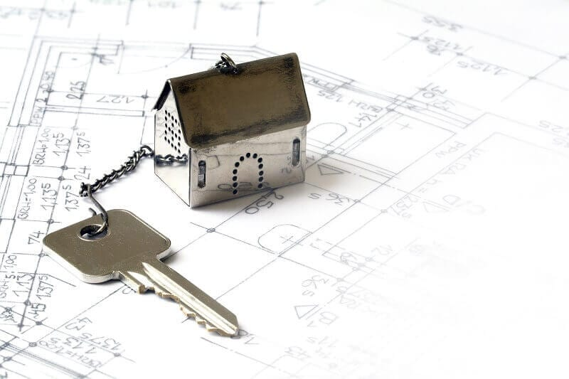 small house is attached to the key