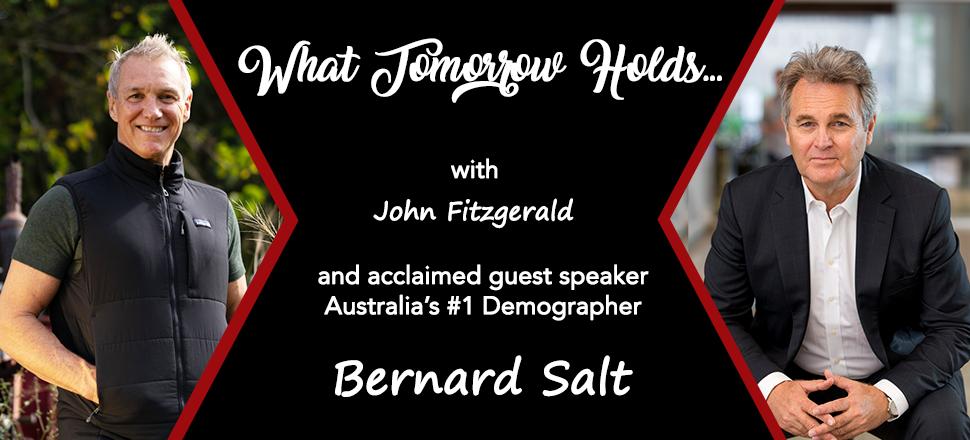 Bernard Salt - Live webinar