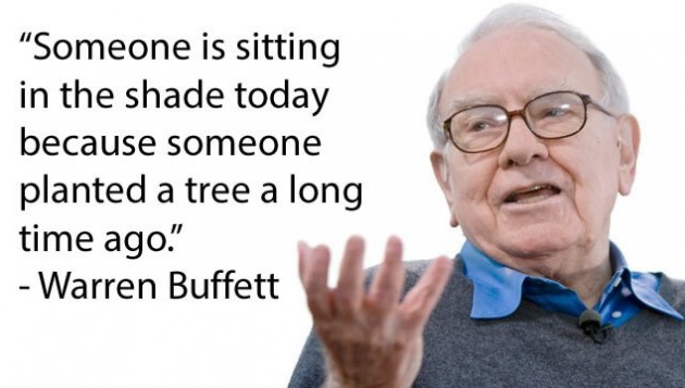 Warren Buffett's famous quote
